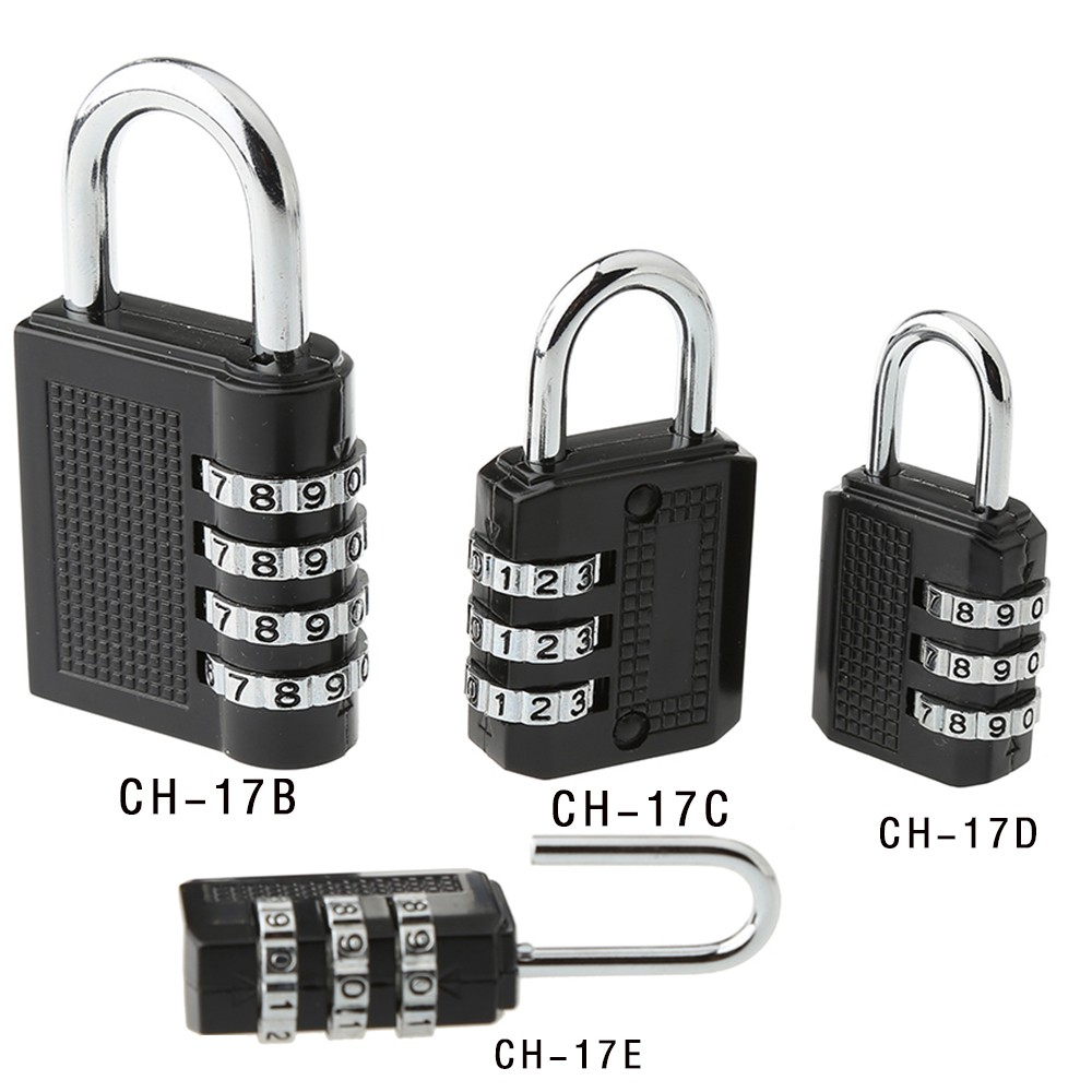 CH-17B Lock factory produce and OEM 4 digits digital security combination lock