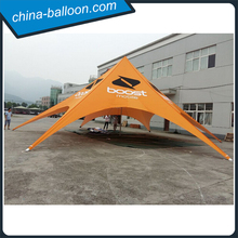 Waterproof orange color sigle peak star shaped tent for outdoor c&in. & Star Tent Star Tent direct from Guangzhou Plato Industrial Co ...