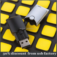 custom bulk 16GB plastic case usb flash drive