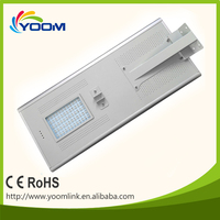 China manufacturer high power solar street light charge by solar panel