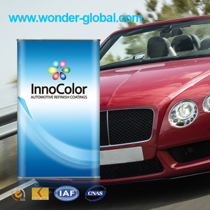 Heat resistant and High Solid Clear Coat for Car Repair