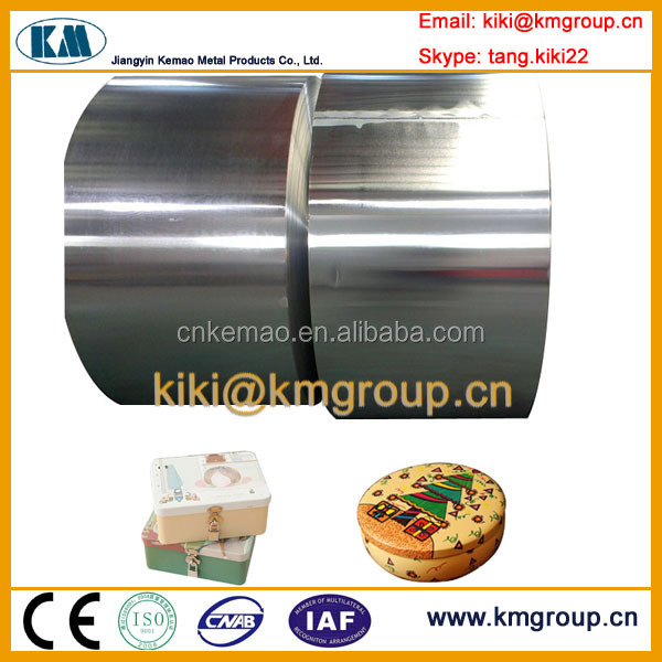 China Hot Selling Steel Prices Tin Plate Coil for Toy Container