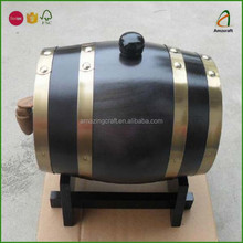Wholesale Wood Wine Aging Barrel,Ideal for Yard Decoration