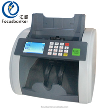 Focusbanker FB-810 multi currency mixed value counting money counter banknote counter