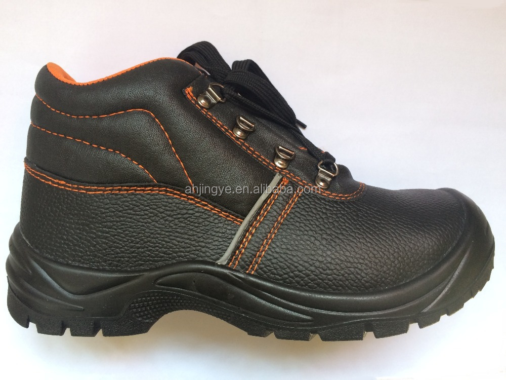 JY-159 mens middle cut buffalo leather water resistant safety boots S3 engineering safety shoes price in india