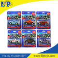 Six designs 1:43 pull back diecast cute vintage car toy