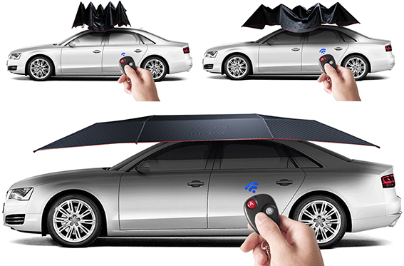 High quality durable folding automatic portable car cover