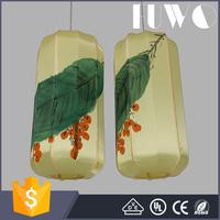 Antique modern indoor light hanging retro vintage lantern shape pendant lamp for home decorations