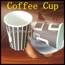 disposable paper material beverage use airline cups / coffee cups /juice paper cups