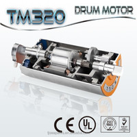 meat , poultry, and fish processing belt conveyor TM320 Drum motors