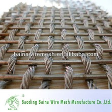 Decorative Wire Mesh Curtain Wall Mesh