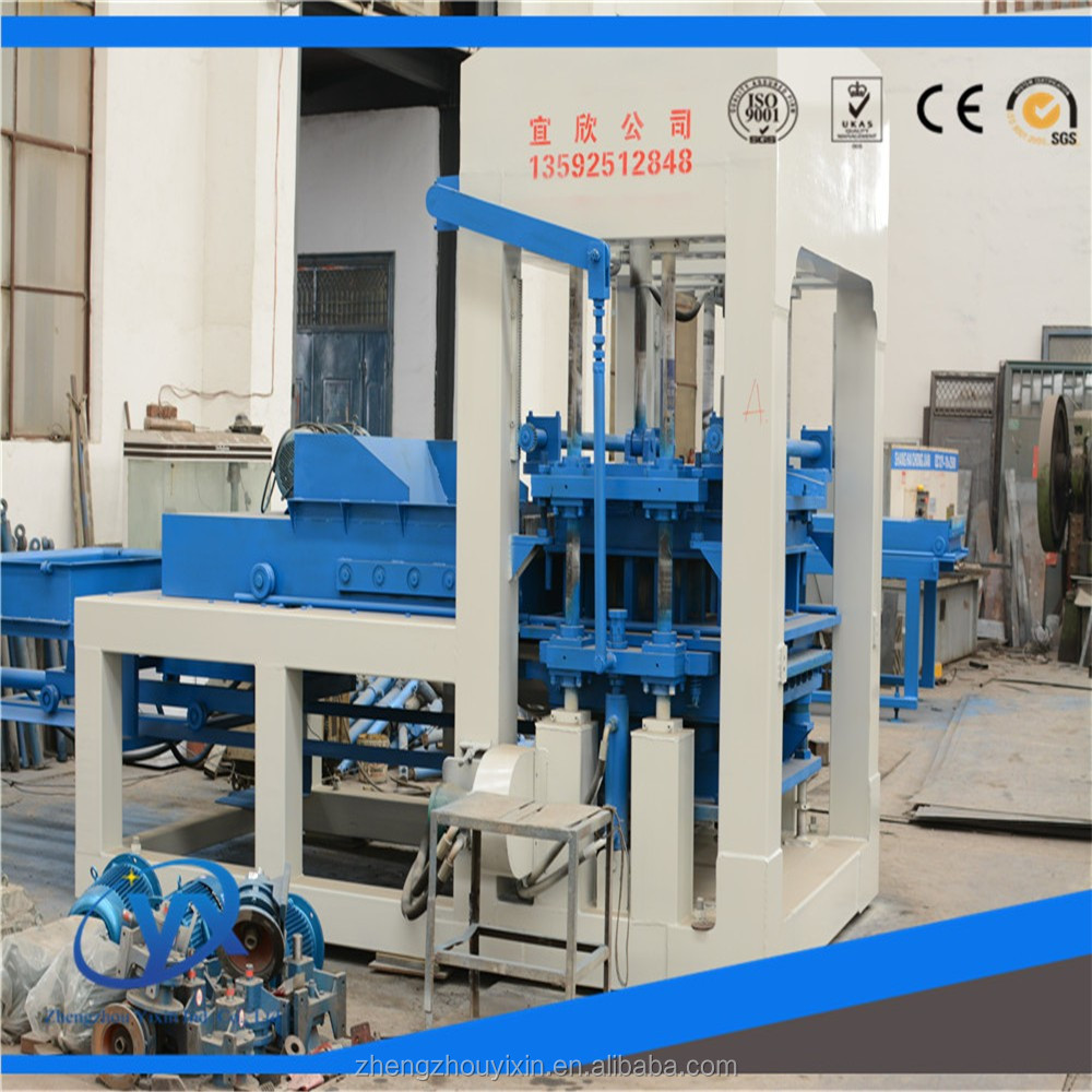 The durable and lasting blind trail brick making machine of QT4-15