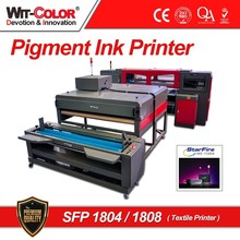 witcolor high quality Textile printer SFP 1804 or 1808 in Pigment ink Printer with 4 or 8 StarFire printheads