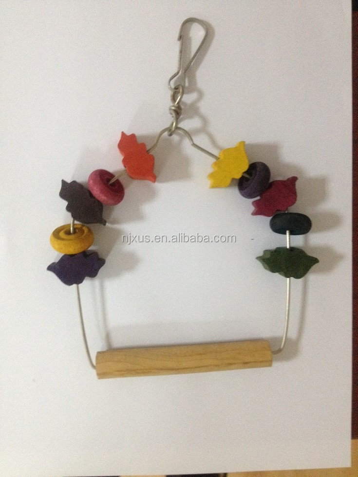 Factory supplier balancing wooden bird toy