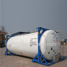 ISO Tank Container Cryogenic Liquid Oxygen Nitrogen Tank Container