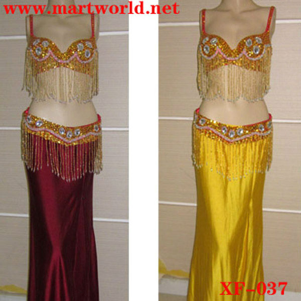 cheap belly dance costume for sale (XF-037)