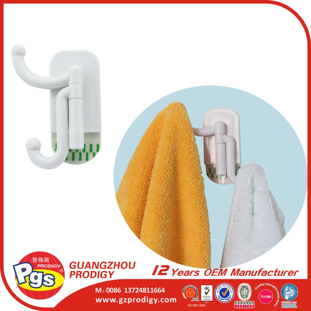 multi use plastic sticky coat hooks magic ahesive towel hooks