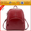 Trendy fashion wholesale pu leather oem backpack manufacturers china