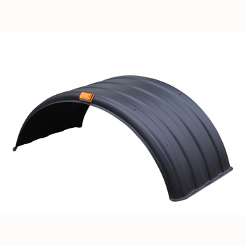 Heavy truck mudguard fender with hard toughness mudguard for trucks