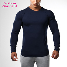 long sleeve tapered fit 95% Cotton 5% Elastane t shirt