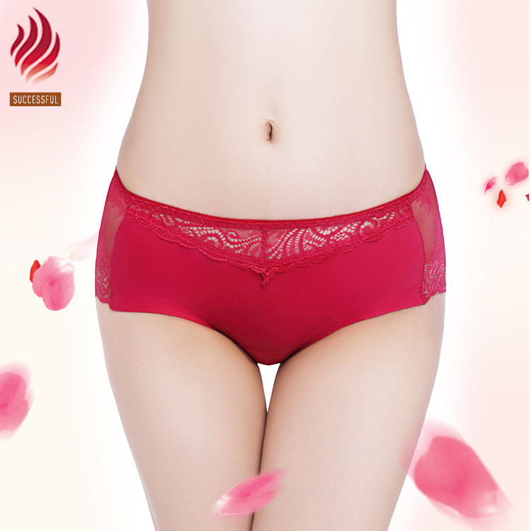 hot women sexy transparent seamless breathable lace underwear panties