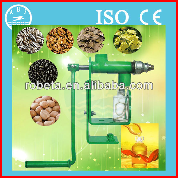 Individual Workshop hand operated small olive oil press machine/manual oil press
