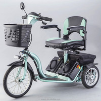 S637 professional manufacturer electrical motor 3 wheel mobility scooter