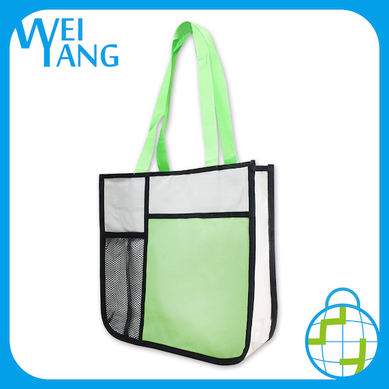 Advertisement Gift Bag Hot Sale Custom Logo Embossed Cloth Shopping Hand Polyester Non Woven Bag