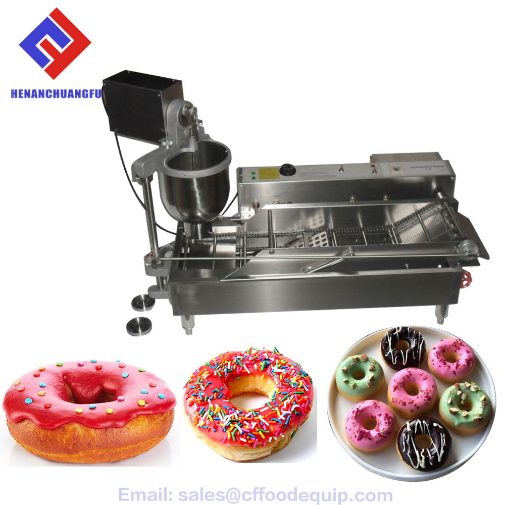 New mini commercial automatic yeast jam donut machine for sale T-100A