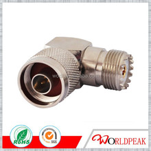 Coaxial adaptor connector n male to uhf so239 right angle adapter