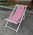 Camping,outdoor Wooden folding deck chairs