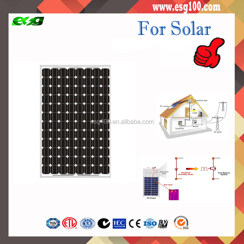 CE/IEC/TUV/UL Certificate Non-Anti-Dumping Mono and <strong>Poly</strong> 5W to 330W solar panel