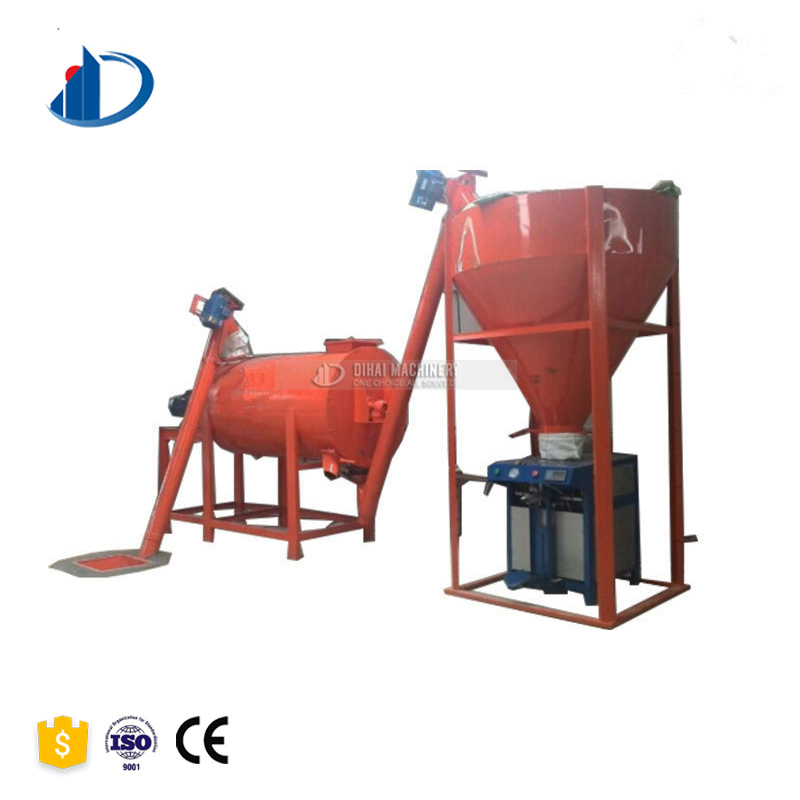 Ceramic Tile Adhesive Mixing Machine Cement Glue Production Line