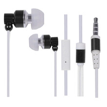 various styles cheap flat calbe metal earphones /earbuds /headset with mic