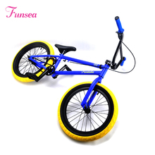 New brand 2017 strong fashion special shape race light bmx bike