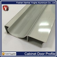 High Grade Cabinet Door Frame Aluminum Extrusion Profile