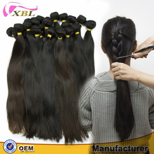 Drop shipping raw unprocessed Straight Hair Extensions bundles virgin human hair that last more than 2 years