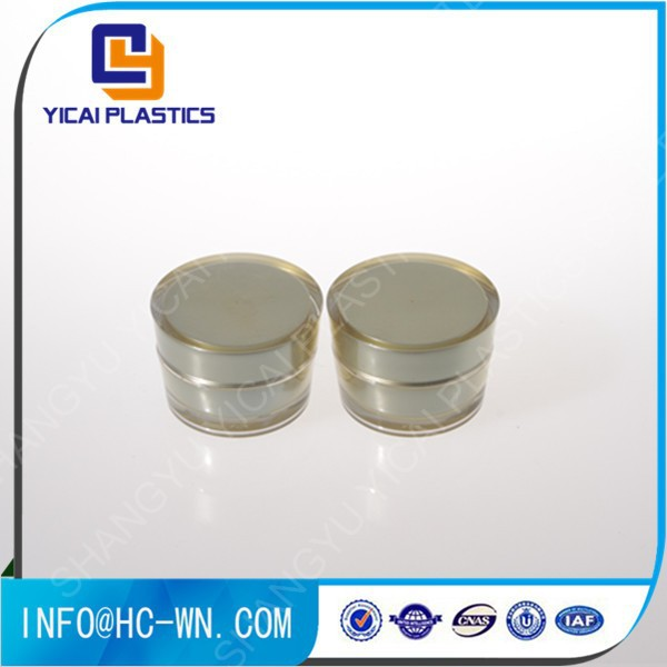 Cone Shape 5g 10g ODM Cosmetic Plastic Jar Wholesale