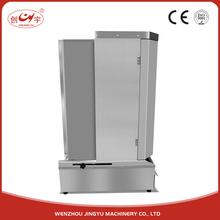 Chuangyu Most Popular CE Silvery Chocolate Bread Shawarma 360 Rotating Machine For Sale
