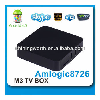 Android 4.0 m3 tv box