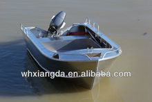 Welded aluminum cheap speed boat for sale