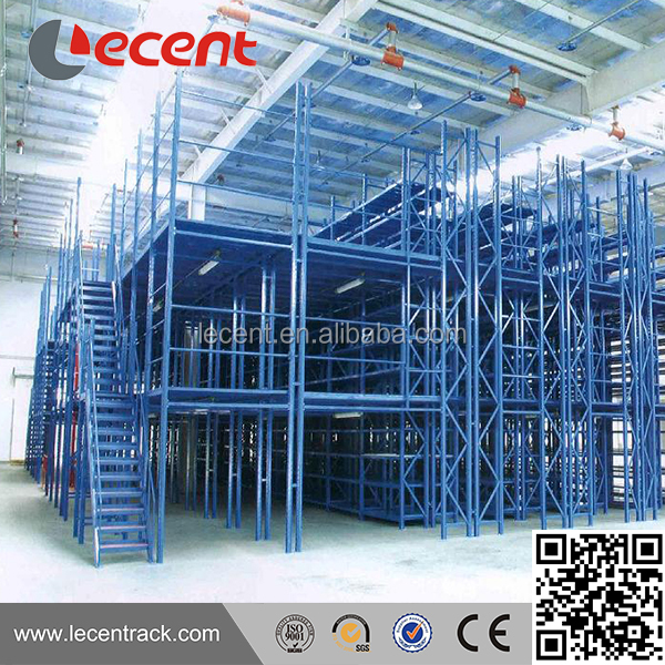 Nanjing steel structure mezzanine stairs shelves
