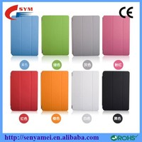 Free DHL Shipping Wholesale Luxury Leather Case For iPad Mini Smart Cover Magnetic Strong