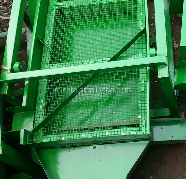 2014 new arrive 1.5Kw electric two sieves Corn/seeds screening machine and Grain/wheat/bean/maize cleaning machine/ cleaner