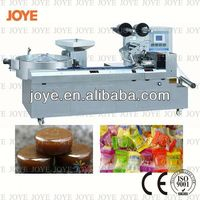 Lollipop Packing Machine/Rich Milky Caramel Candy Flow Wrapping Bagging Machine JY-1200 With High Speed