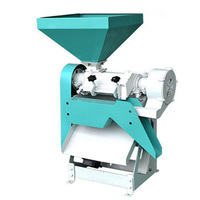 High efficiency automatic electric maize corn peeler and sheller maize corn removing skin peeling machine