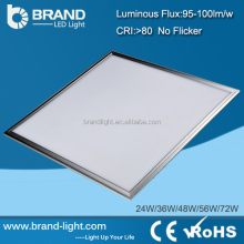 High Brightness Dimmable White LED Suspended Ceiling Light Panel