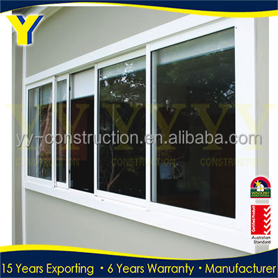 New window grill design for cheap prefab homes sliding glass window