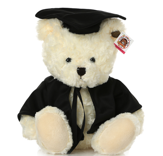 2016 Lovely Plush Toy Teddy Bears and Little Dogs graduation gifts wholesale