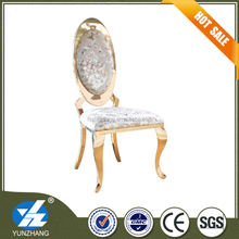 Hot sell golden stainless steel hotel banquet chair